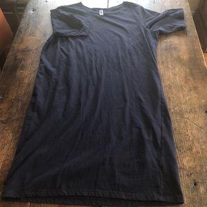 American Apparel tee shirt dress - midi length